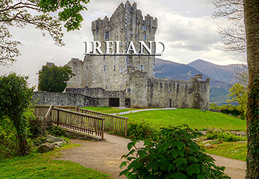 image of killarney castle Ireland