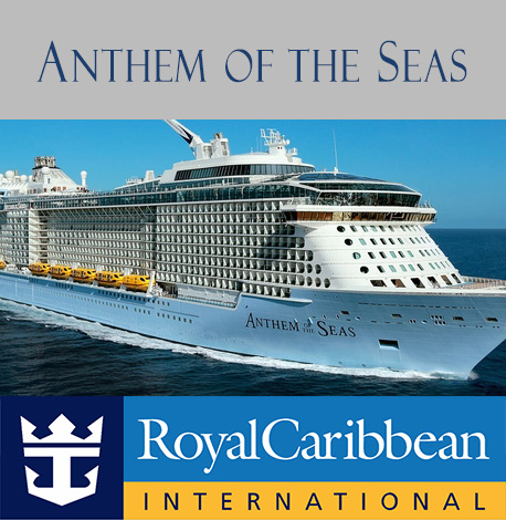 image of the royal caribbean Anthem of the Seas cruise ship