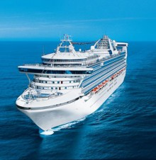 image of the Princess Cruise vessel Caribbean Princess
