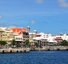 image of Hamilton Bermuda shore